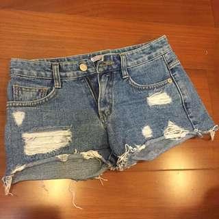 韓貨 牛仔 短褲