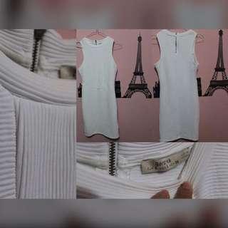 Bershka White Dress