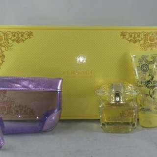 Versace Yellow Diamond For Women,  3 Piece Gift Set