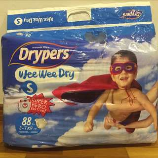 [RESERVED] Drypers Diapers S Size