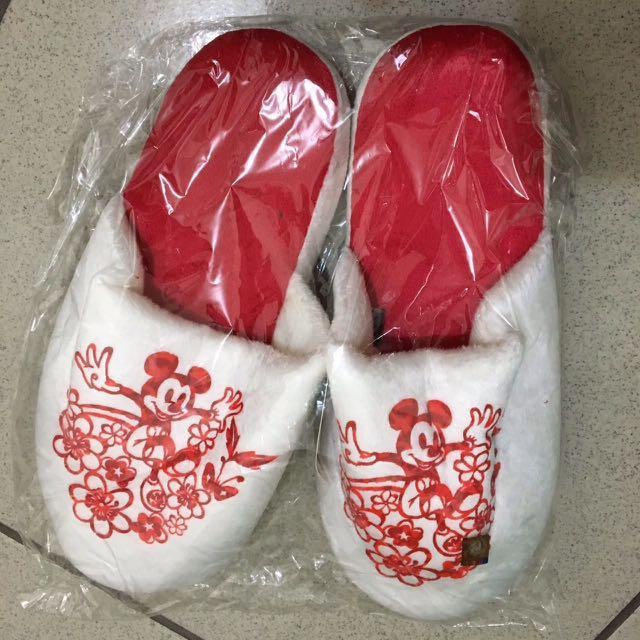 米奇室內拖鞋(39號)