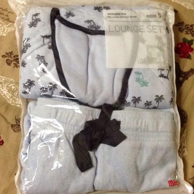 全新 Uniqlo 家居服組尺寸S  睡衣褲