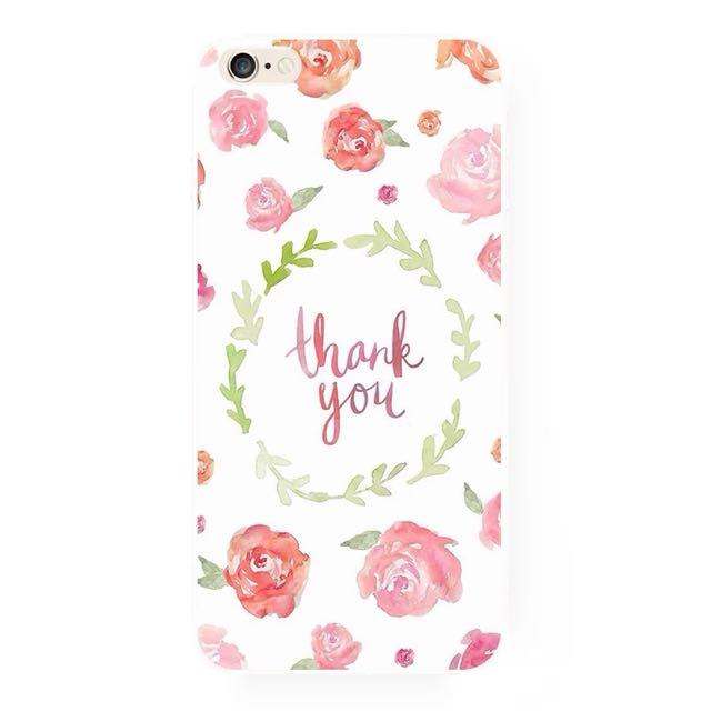 謝謝你。手機殼(A)