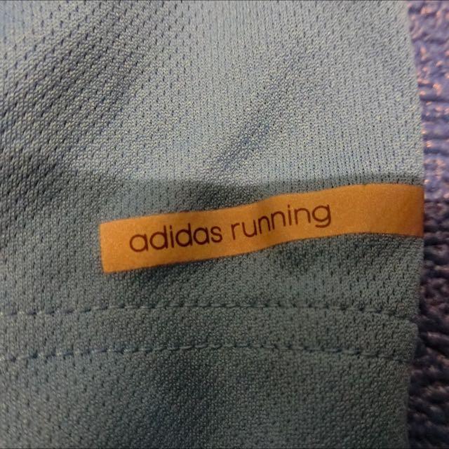 Adidas M 最新款 短袖慢跑衣 藍