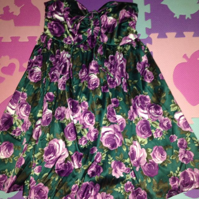 Apartment Eight Floral Tube Dress