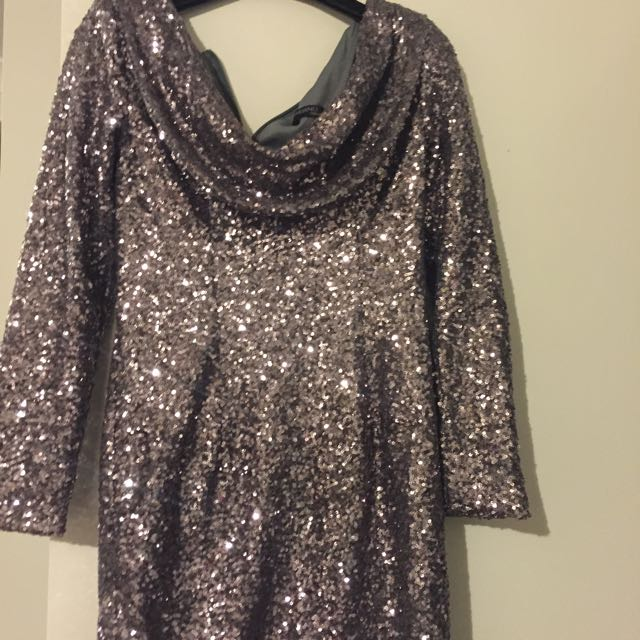 Bariano Glitter Dress