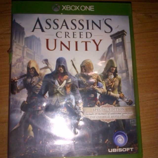 Bd Game Xbox One Assassin Creed Unity