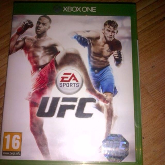 Bd Game Xbox One UFC