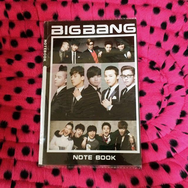 BIGBANG NOTE BOOK 👑