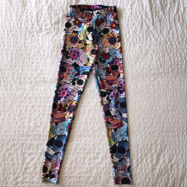Blackmilk Day Of The Dead Leggings