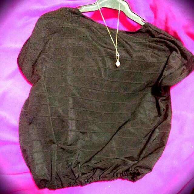 Black-striped Blouse