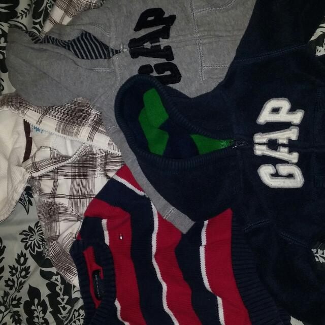 Boys Warm Sweaters 0-3 Months