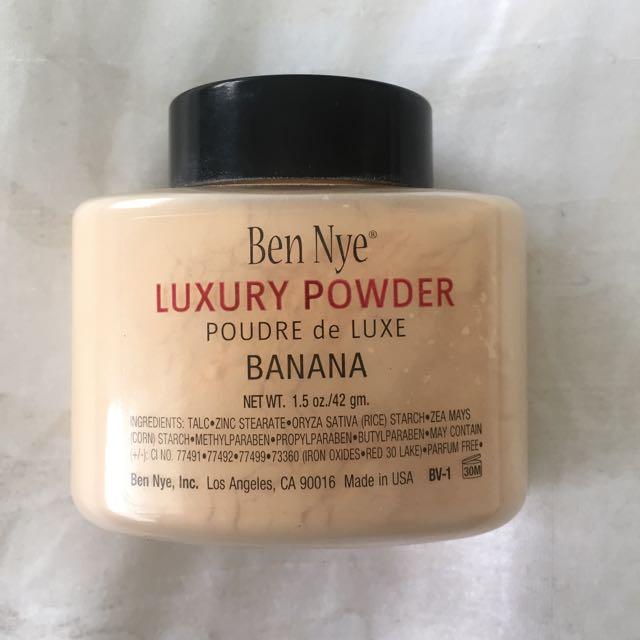 [HOLD] BRAND NEW Ben Nye Banana Powder