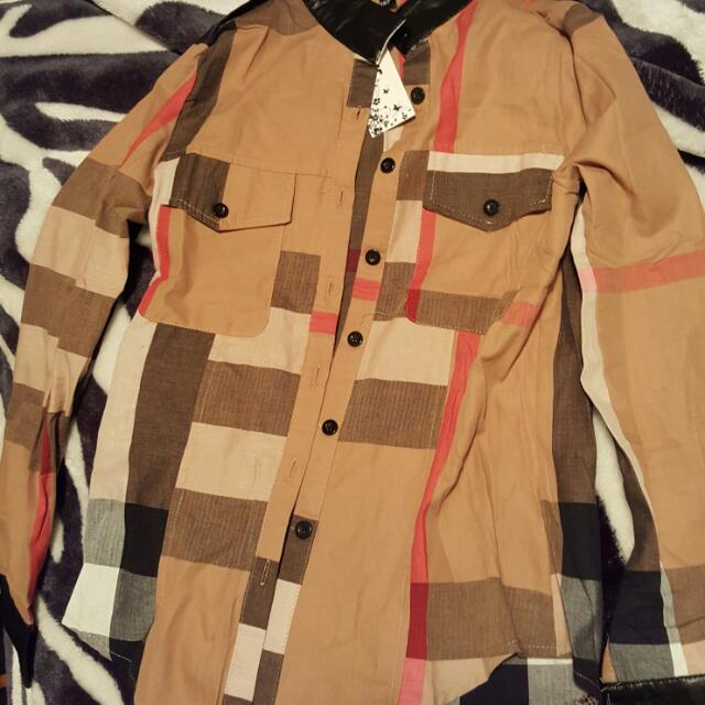 Brand New Burberry Replica Shirt