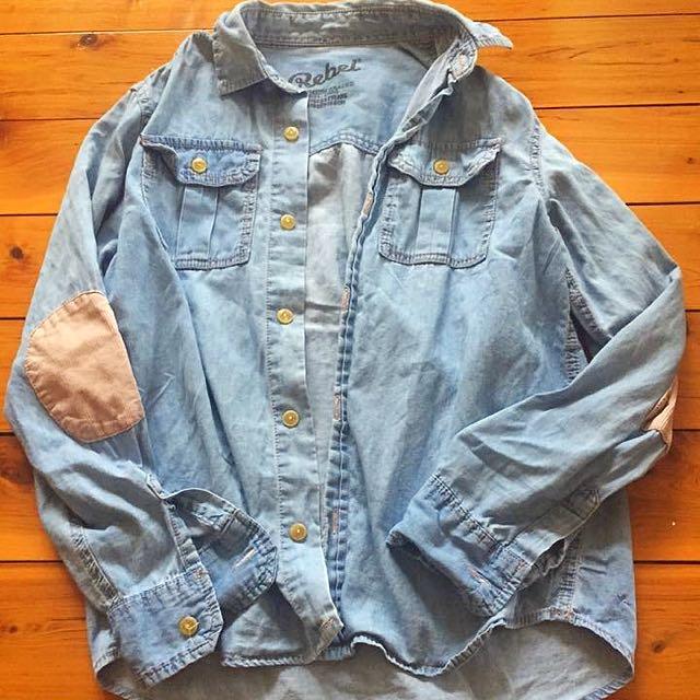 Denim Look Shirt