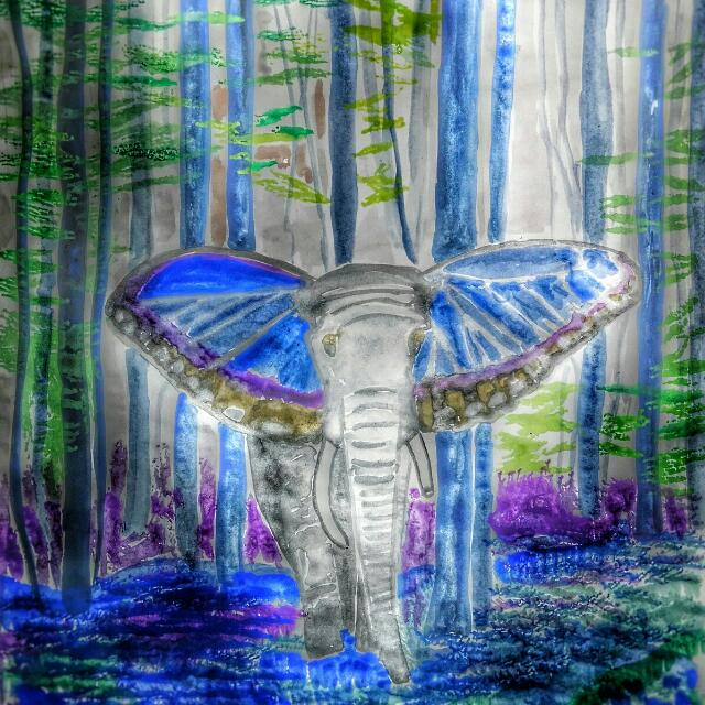 Elephant On Acid