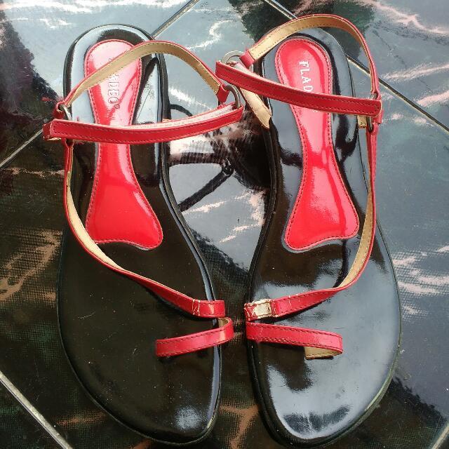 Fladeo Stripe Sandals