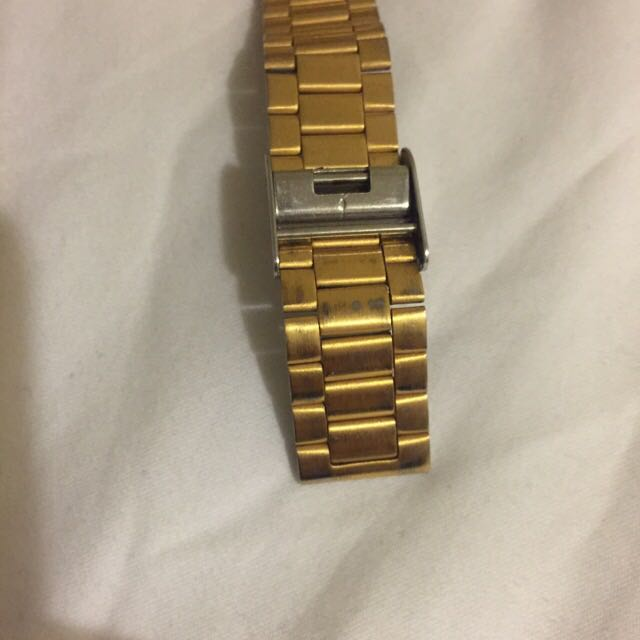 Authentic Gold Casio Watch