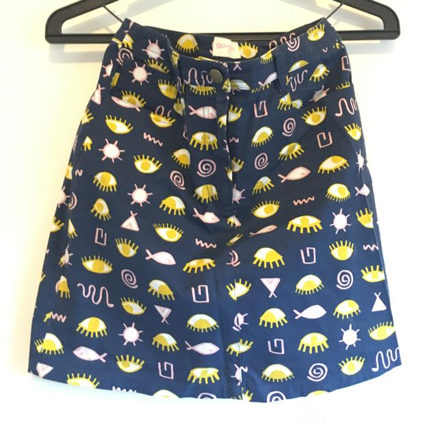 Gorman Eye Skirt Size 06