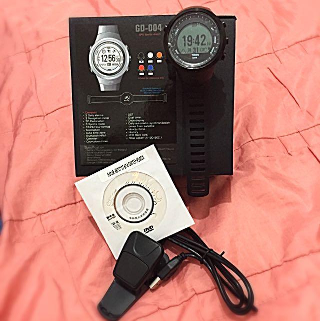 GPS智慧記步手錶