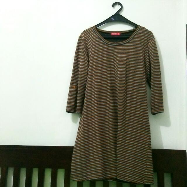 Graphis Striped Dress