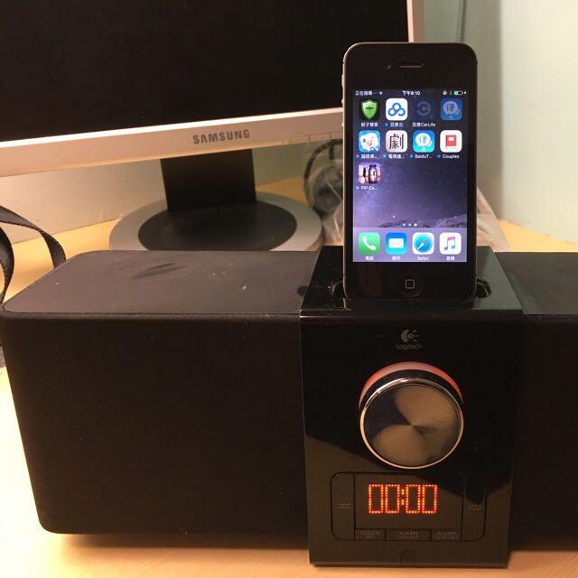搬家急售 iPhone 4S 16G 與羅技喇叭