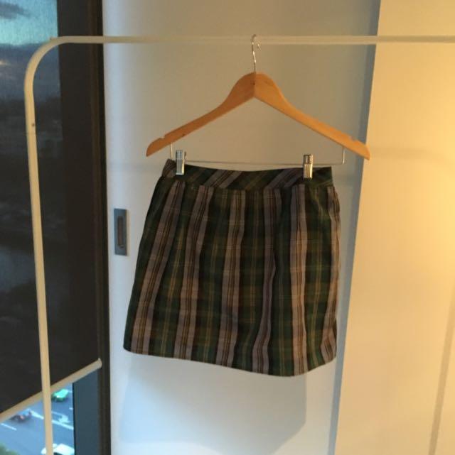 Jack Wills Tartan Skirt Size 8/10