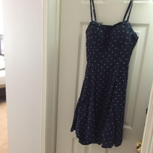 Jessica Simpson Polka dot Dress