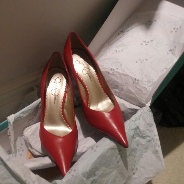 Jessica Simpson Red Heels