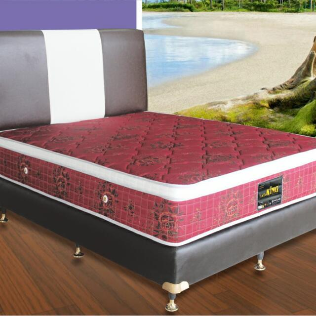 Kasur Springbed KING- Napoly (Top Tricode)