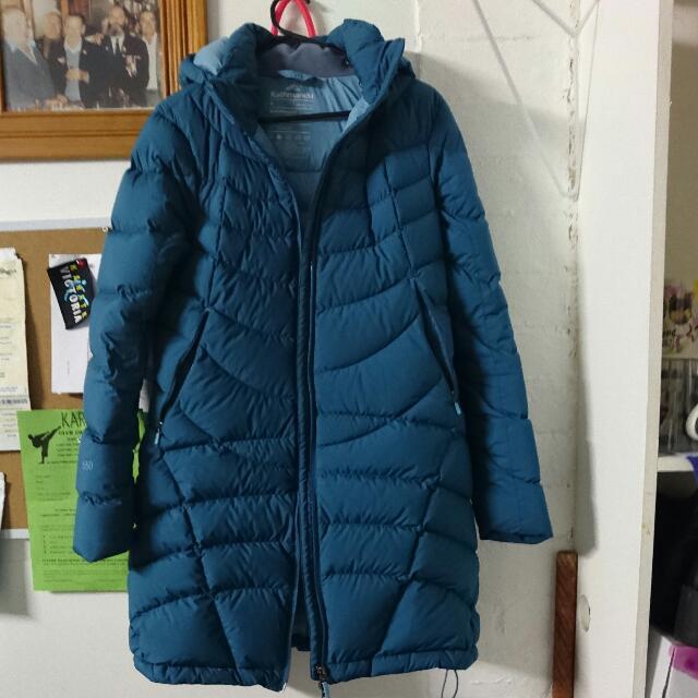 Kathmandu Long Jacket Size 8