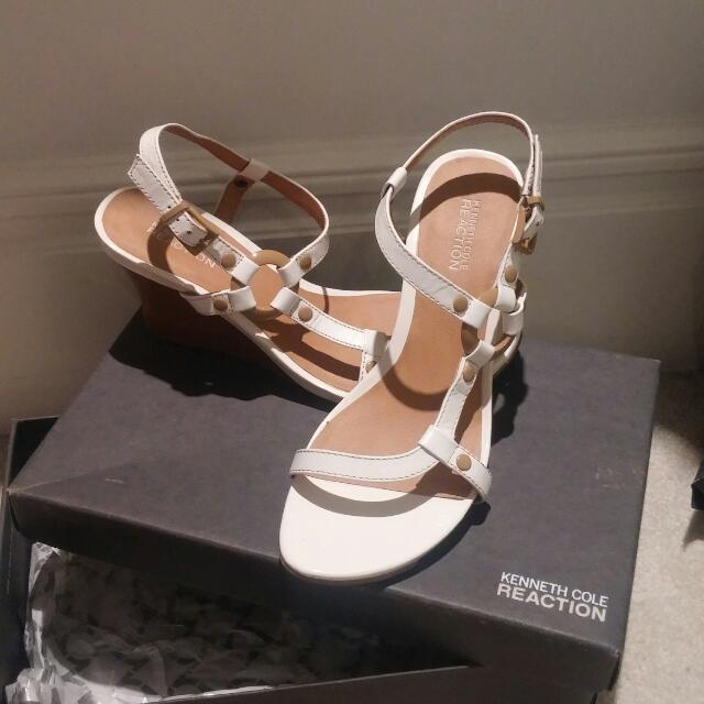 Kenneth Cole White Shoes