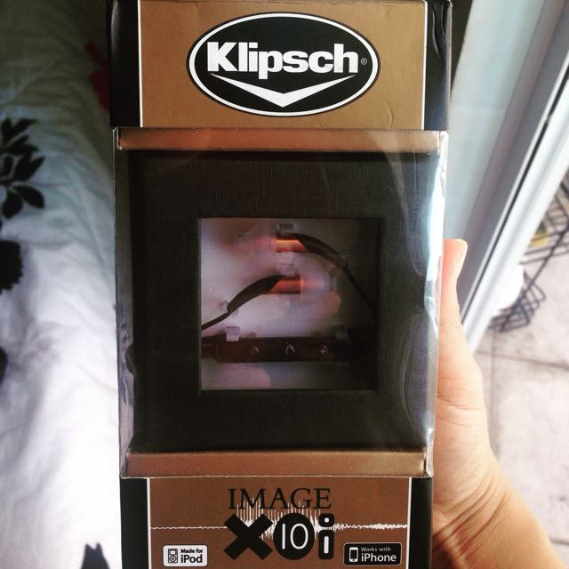 ❗️REPRICED: KLIPSCH IN EAR MONITORS w/ Mic and Remote