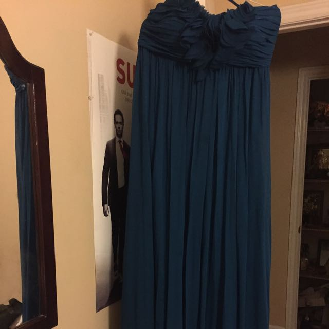 Le chateau Teal dress