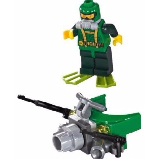 Lego Super Heroes Iron Skull Sub Attack  HYDRA DIVER New 76048 minifig