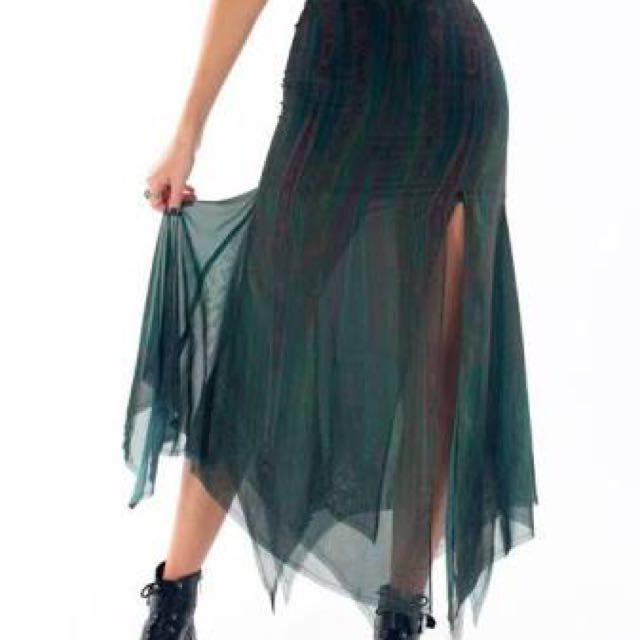 Liberated Heart Machu Picchu Maxi Skirt