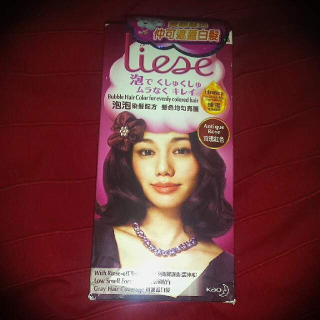Liese Bubble Hair colour in Antique Rose