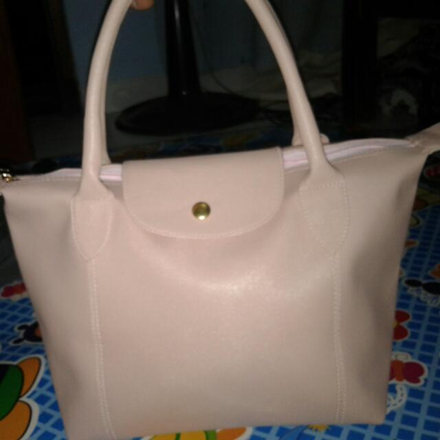 Longchamp Semi Leather