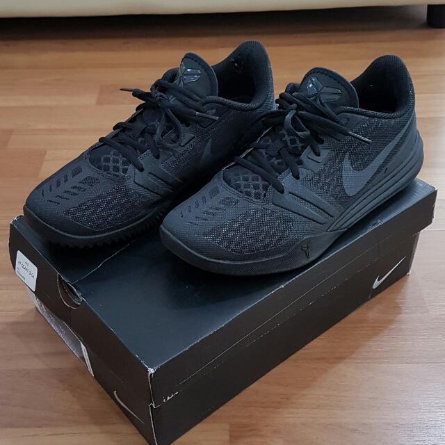promo code 2c6a8 6d395 Nike Kobe Mentality Triple Black - US9.5 UK8.5