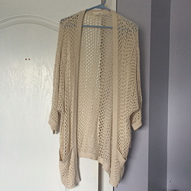 Garage Open Knit Cardigan