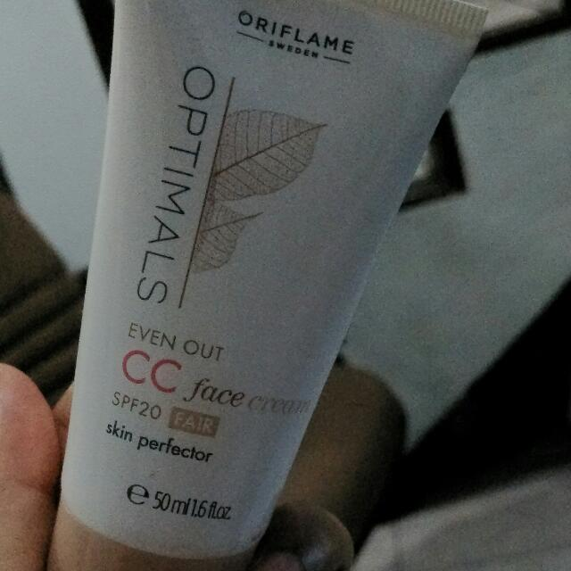 OPTIMALS EVEN OUT CC FACE CREAM SPF 20 ORIFLAME