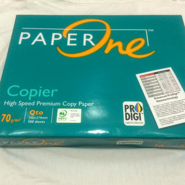 Paper One Bond Paper Short And Long