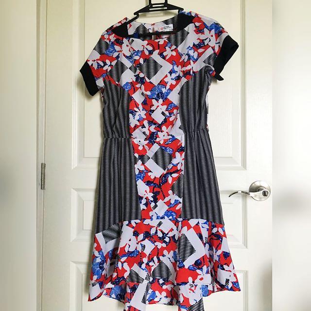 Peter Pilotto Dress Flower Dress US Size 4