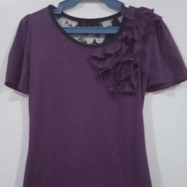 Proloved Purple Blouse