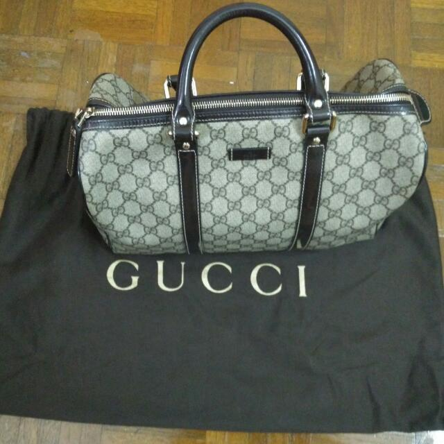b4f6bb1ea Reserved Markdown Sale Pre Loved 100% Authentic Gucci Brown Joy ...