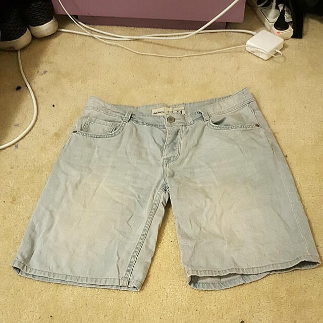 Size 11 3/4 Denim Shorts