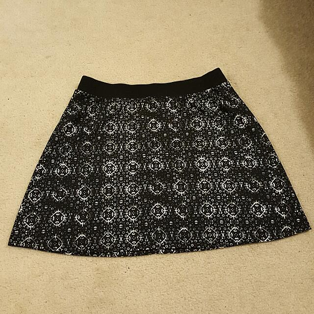 Size 12 Printed Skirt