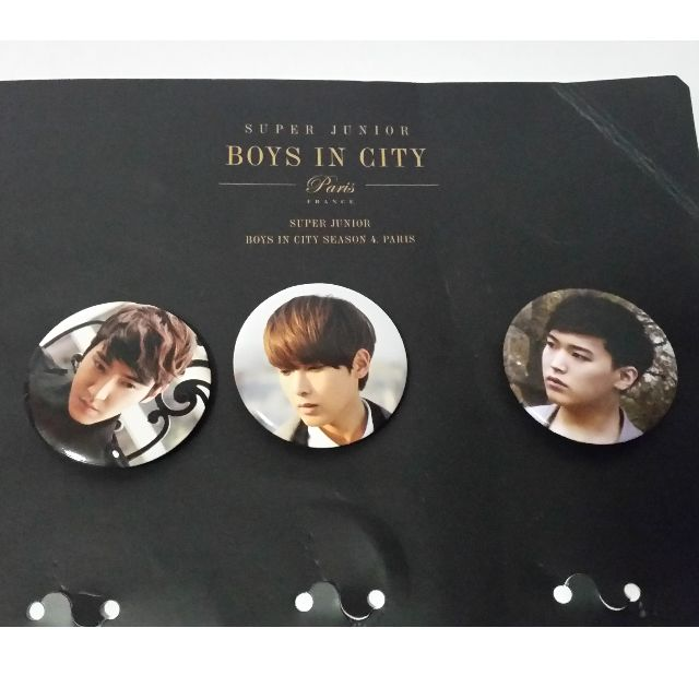 SJ - Boys in the City Official Badge