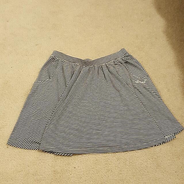 Stripey Skirt