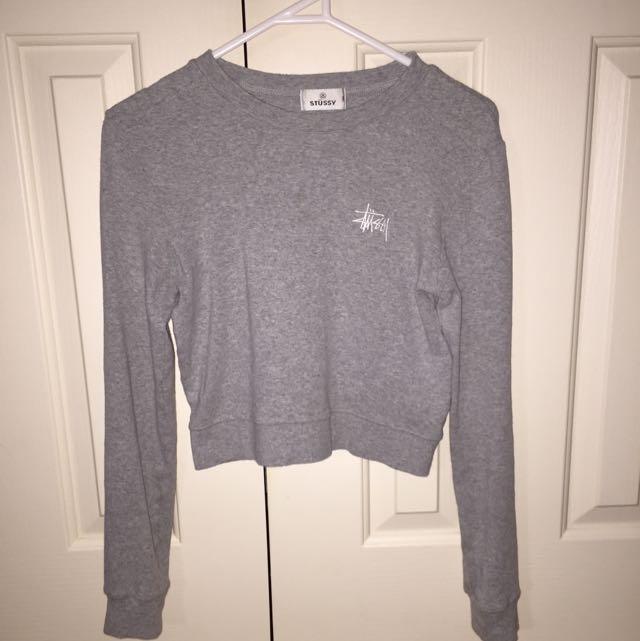 Stussy Crop Sweater